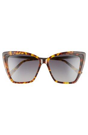 DIFF Becky II 55mm Cat Eye Sunglasses | Nordstrom