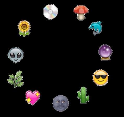 circle emojis aesthetic transparent png border circlebo...
