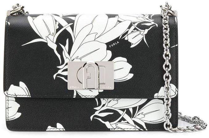 1927 floral-print crossbody bag