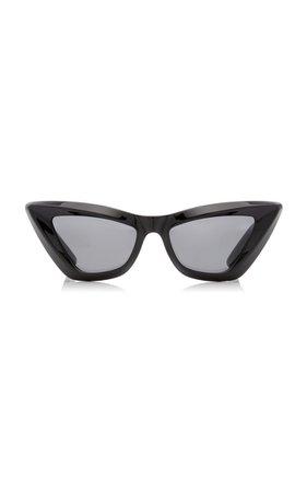 Cat-Eye Acetate Sunglasses By Bottega Veneta | Moda Operandi
