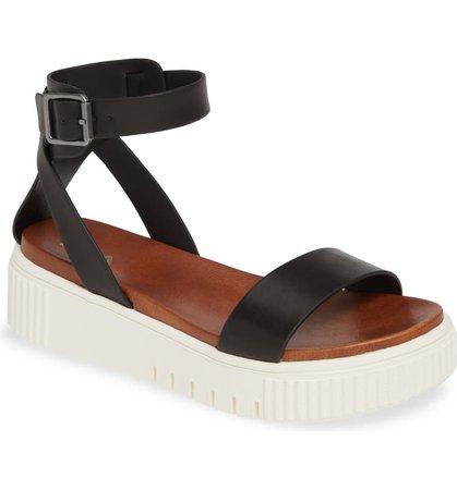 MIA Lunna Platform Ankle Strap Sandal (Women) | Nordstrom