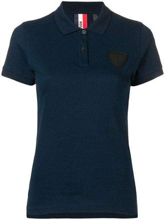 patch detail polo shirt