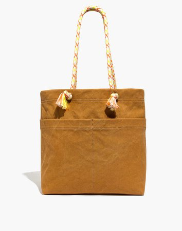 The Canvas Transport Tote: Corded Handle Edition