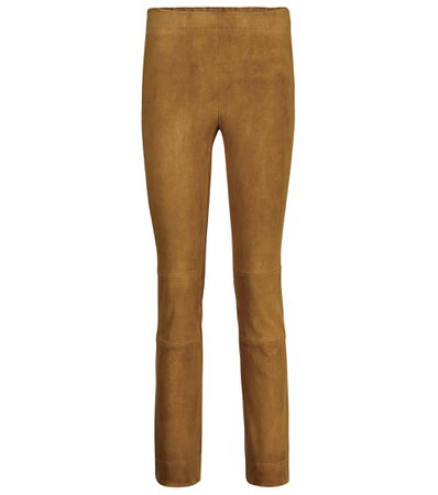 Stouls, Maria Rosa suede trousers pants