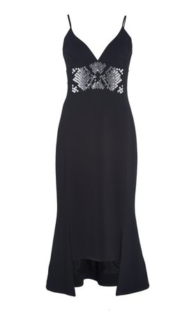 Plexi Embroidered Asymmetrical Cocktail Dress by David Koma | Moda Operandi