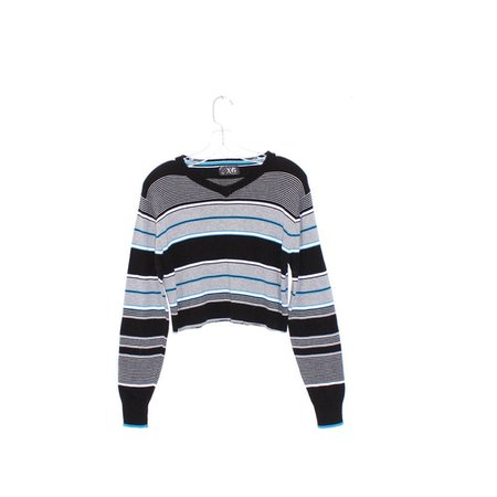 90s SKATER SWEATER crop top sweater jumper striped shirt long   Etsy