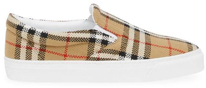 Thompson Canvas Slip-On Sneakers