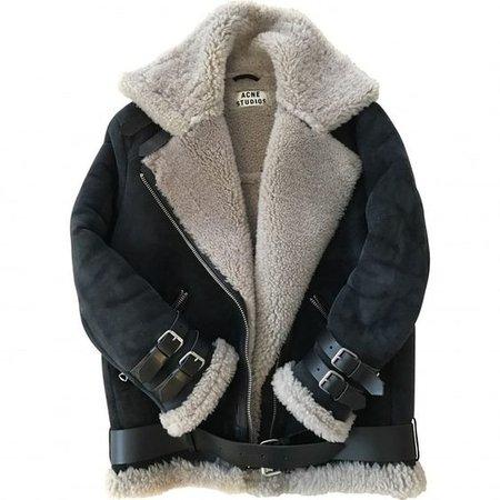 Leather jacket ACNE STUDIOS