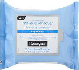 Neutrogena Fragrance Free Makeup Remover Cleansing Towelettes 25ct | Ulta Beauty