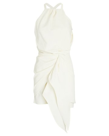 Alexis Adriena Draped Halter Mini Dress | INTERMIX®