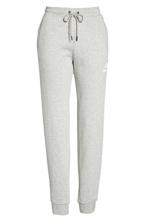 Sportswear Rally Jogger Pants, Alternate, color, GREY HEATHER/ PALE GREY/ WHITE