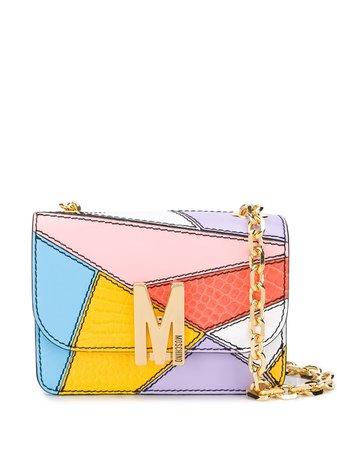 Moschino Patchwork Shoulder Bag