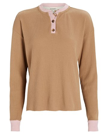 DONNI. Duo Thermal Henley Top   INTERMIX®