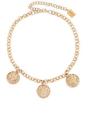 Epifene Saga Necklace in Gold | REVOLVE
