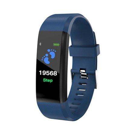 Best cheap B05 0.96'' OLED Color Screen Smart Watch IP67 Waterproof Blood Pressure Monitor Smart Bracelet - NewChic