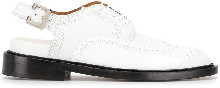 buckle oxford shoes