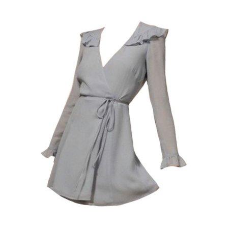 grey dress png
