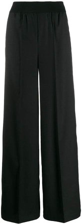 Semicouture tailored raised seam trousers