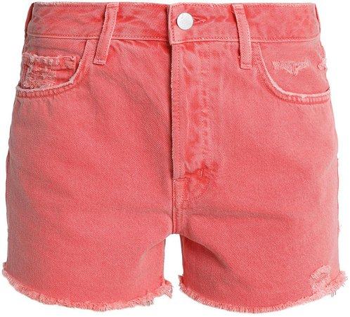 Gracie Distressed Denim Shorts