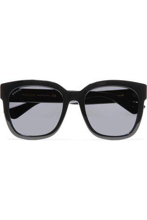Gucci | Square-frame acetate sunglasses | NET-A-PORTER.COM
