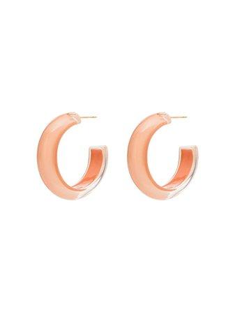 Alison Lou Loucite Small Jelly Hoop Earrings - Farfetch