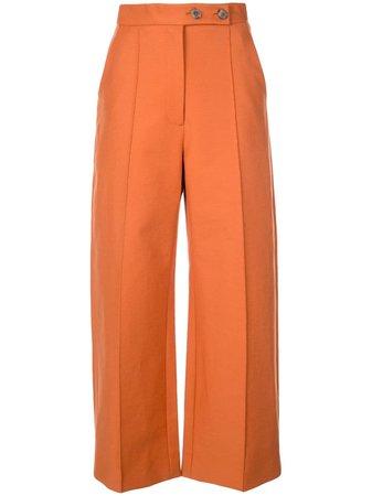 Khaite Wide Leg Tailored Trousers - Farfetch