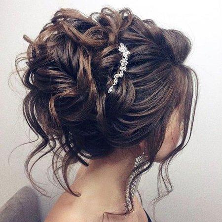 Beautiful Wedding Up Do Hairstyle