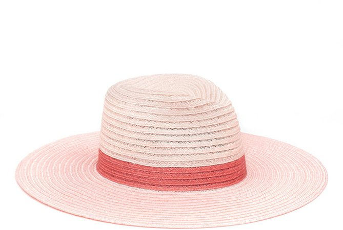 Colorblock Packable Sun Hat