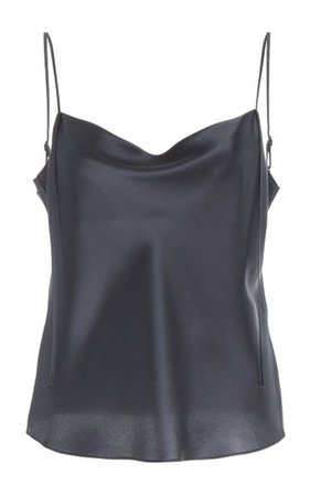 Draped Silk Camisole By Vince | Moda Operandi