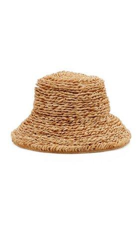 Selma Raffia Bucket Hat By Cult Gaia | Moda Operandi