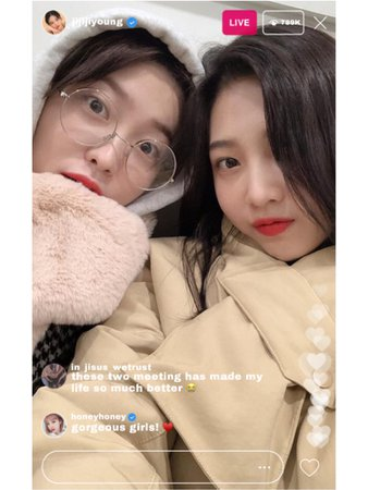 BITTER-SWEET Instagram Live (JIYOUNG)