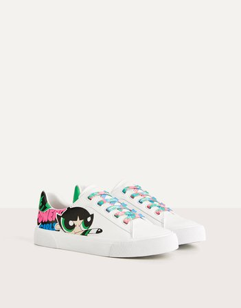 The Powerpuff Girls x Bershka sneakers - Best Sellers - Bershka United States