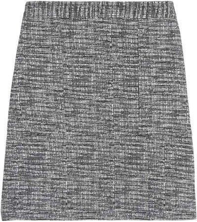 Knit Boucle Mini Skirt