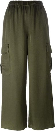 Pre-Owned cargo trousers