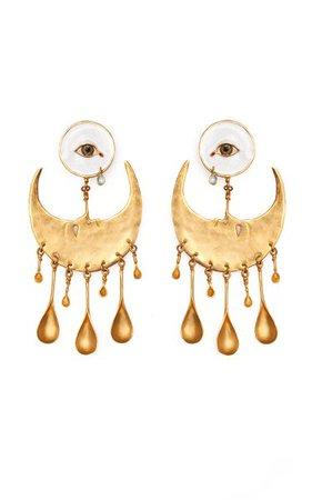 Melancholia Earrings By Samuel François | Moda Operandi