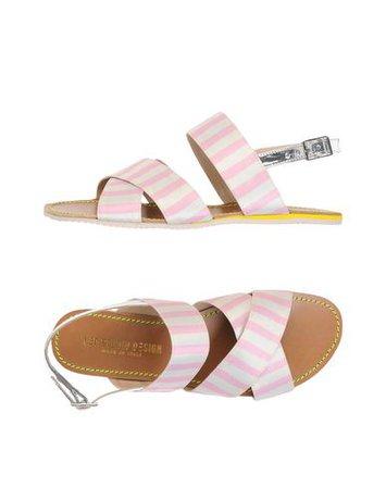 Leo Studio Design Criss Cross Sling Sandal - Sandals - Women Leo Studio Design Sandals online on YOOX United States - 11467219JV