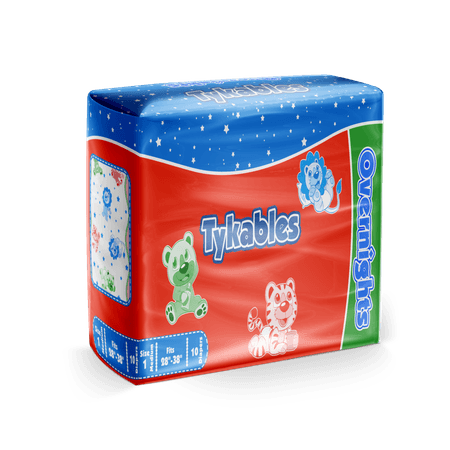 Overnights Diapers | Tykables