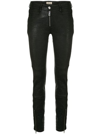 Zadig&Voltaire Matte Skinny Trousers - Farfetch