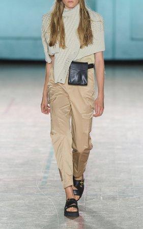 Holzweiler Dunder Cotton Tapered Leg Trousers Size: XXS