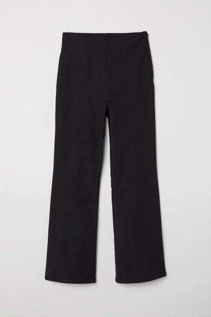 Ankle-length Pants - Black