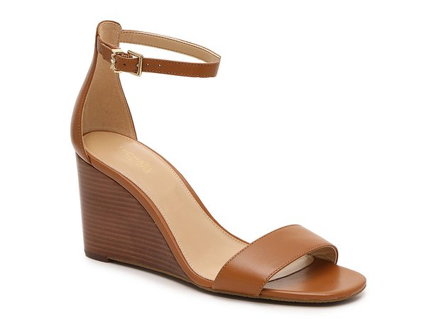 Michael Michael Kors Fiona Wedge Sandal Women's Shoes   DSW