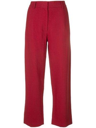 Khaite wide leg tailored trousers