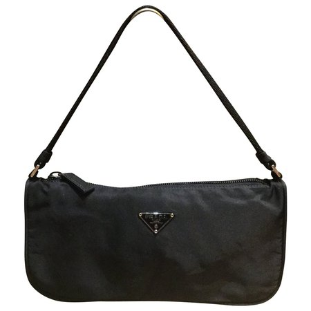 Mini Prada bag in Black nylon