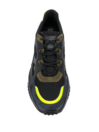 Tod's chunky suede panel sneakers - FARFETCH