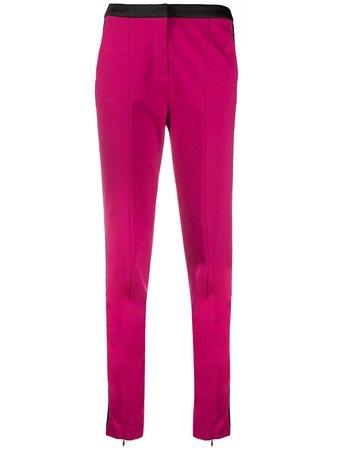 Karl Lagerfeld Punto Logo Tape Trousers Aw20   Farfetch.Com