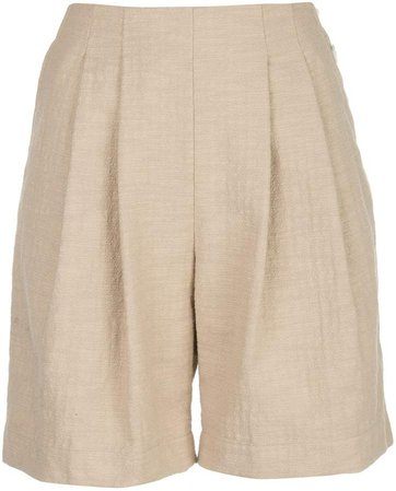 Birgit pleated shorts