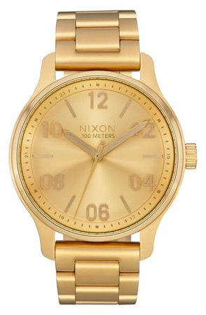 Nixon The Patrol Bracelet Watch, 42mm | Nordstrom