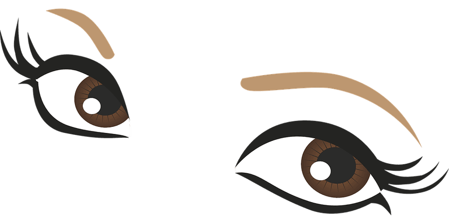 Eyes Brown Drawing - Free vector graphic on Pixabay