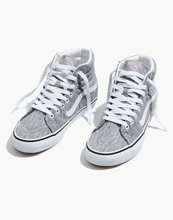 Vans® Unisex SK8-Hi High-Top Sneakers in Grey Rib