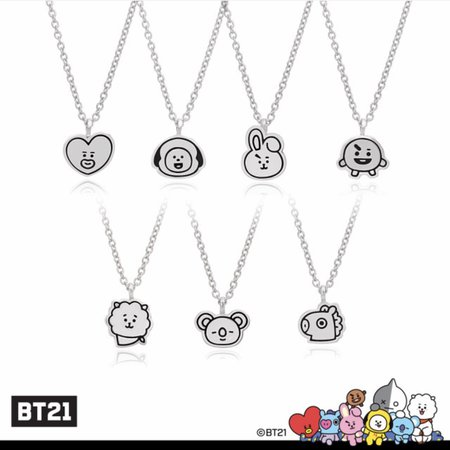 Bt21 Necklace